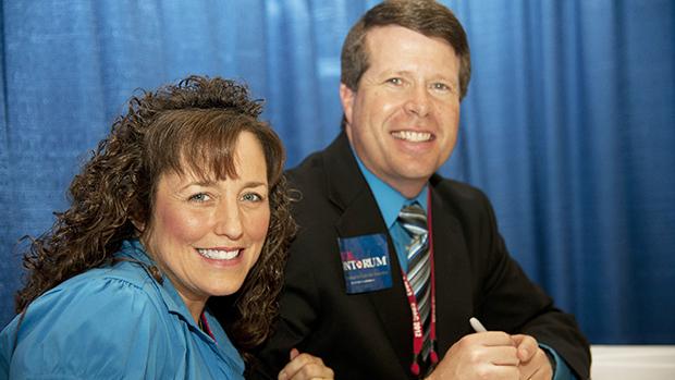 Michelle and Jim-Bob Duggar