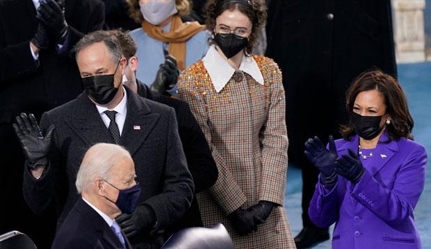 ella emhoff at the inauguration