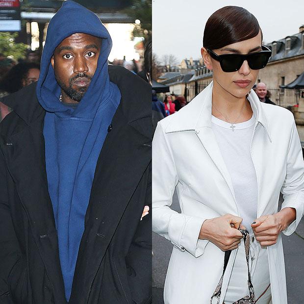 Kanye West & Irina Shayk