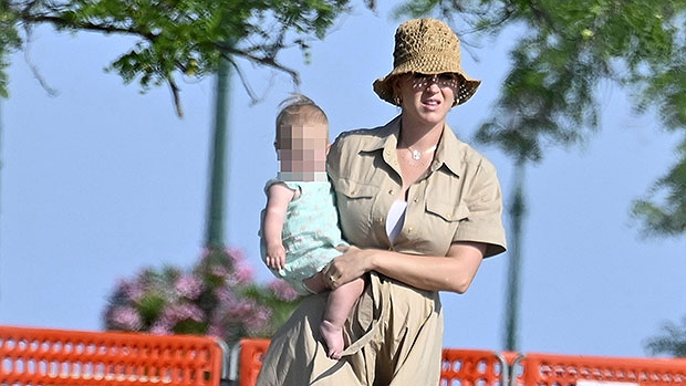 Katy Perry Takes In The Sights Of Italy With Adorable Daughter Daisy, 10 Mos. & Orlando Bloom