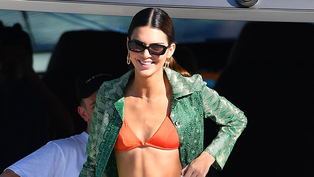 Kendall Jenner Sizzles In Sexy Bikini Bottoms After Celebrating 1-Year Anniversary With Devin Booker