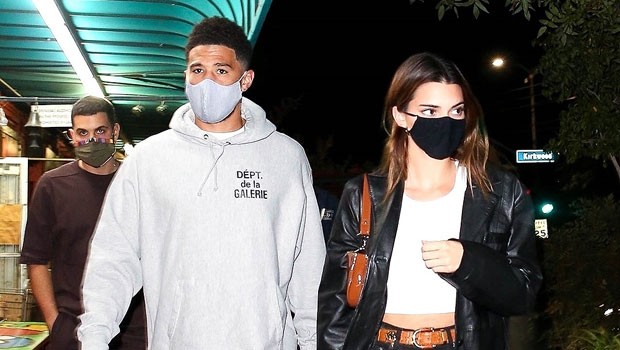 Kendall Jenner Snuggles Up To BF Devin Booker As They Celebrate Their 1 Year Anniversary — See Pics
