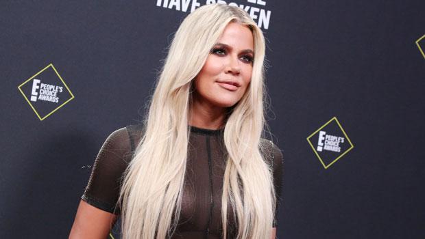 Khloé Kardashian Rocks Crop Top In Her Closet Full Of Expensive Designer Purses & Shoes.jpg