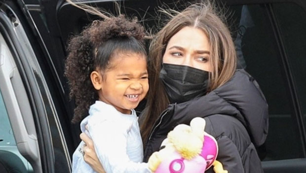 Khloé Kardashian Emerges With Daughter True, 3, In 1st Photo Since Tristan Thompson Split