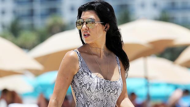 Kourtney Kardashian Rocks A Leopard Print Bikini & Runs Into The Ocean On Getaway With Travis Barker.jpg