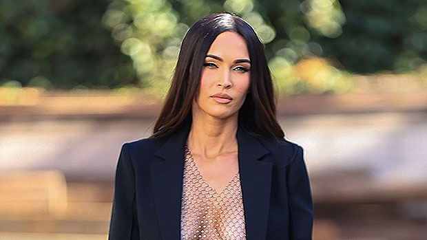 Megan Fox Stuns In Black Blazer With Barely There Chain Top Underneath After Date Night With MGK.jpg