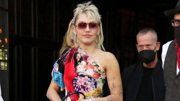 Miley Cyrus Celebrates Pride Month In Rainbow Colored Bikini – See Pic