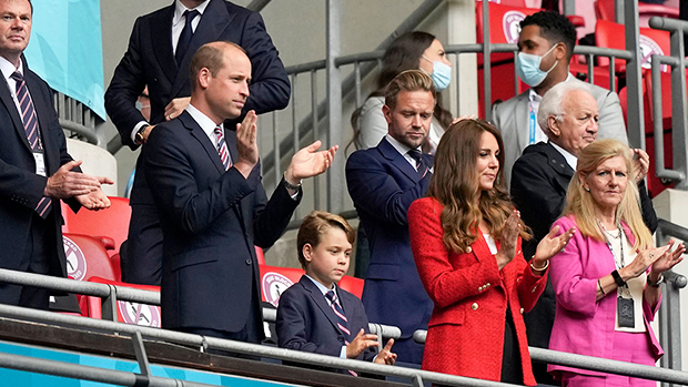 Prince William, Prince George and Kate Middleton