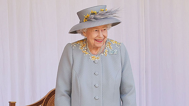 Queen Elizabeth Is Elegant In Powder Blue Coat For 'Trooping The Colour' 95th Birthday Parade – See Pics