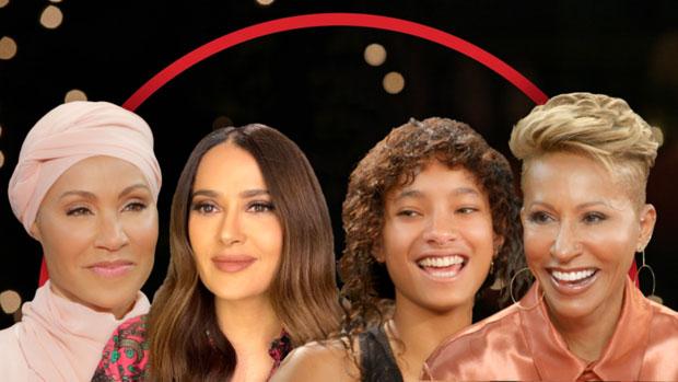 Jada Pinkett Smith, Salma Hayek, Willow Smith, Adrienne Banfield-Norris