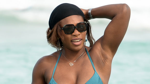 Serena Williams Rocks One Piece Swimsuit Hitting The Beach In France With Husband Alexis Ohanian