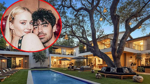 joe jonas and sophie turner selling LA mansion