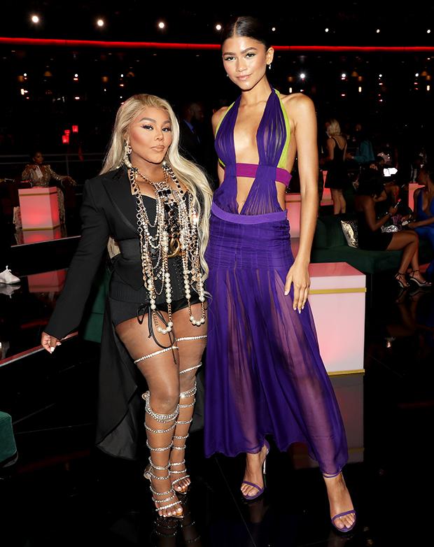 Zendaya with Lil Kim