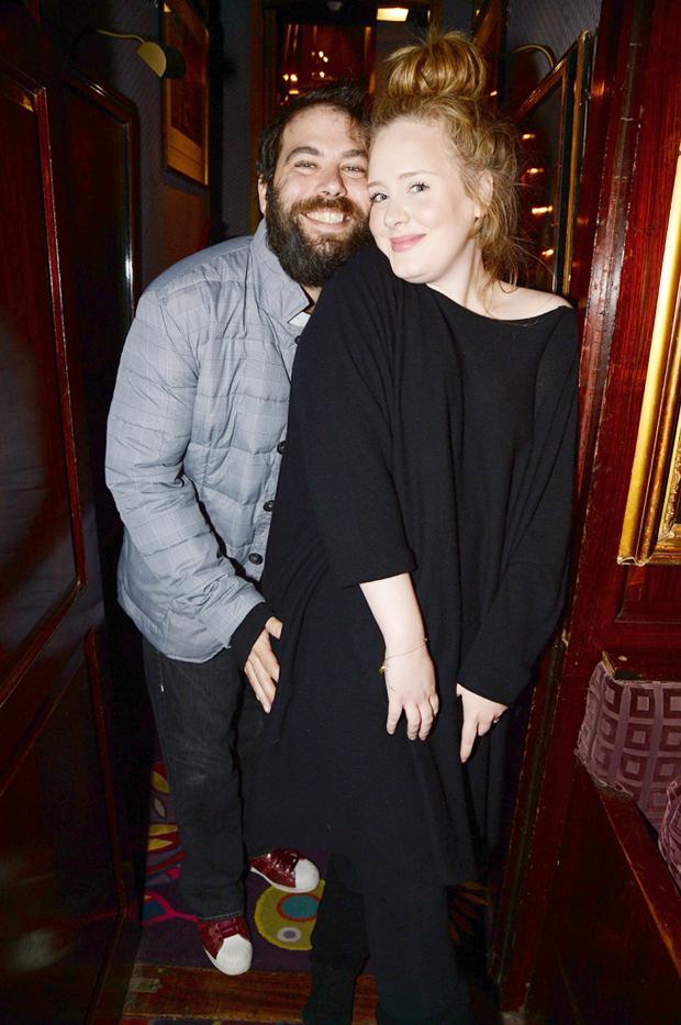 Simon Konecki & Adele