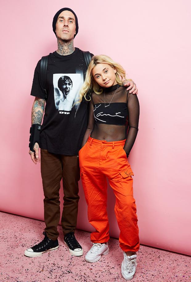 Travis Barker & daughter Alabama