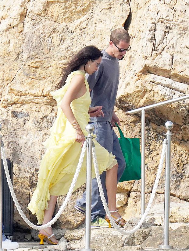 Bella Hadid and Marc Kalman