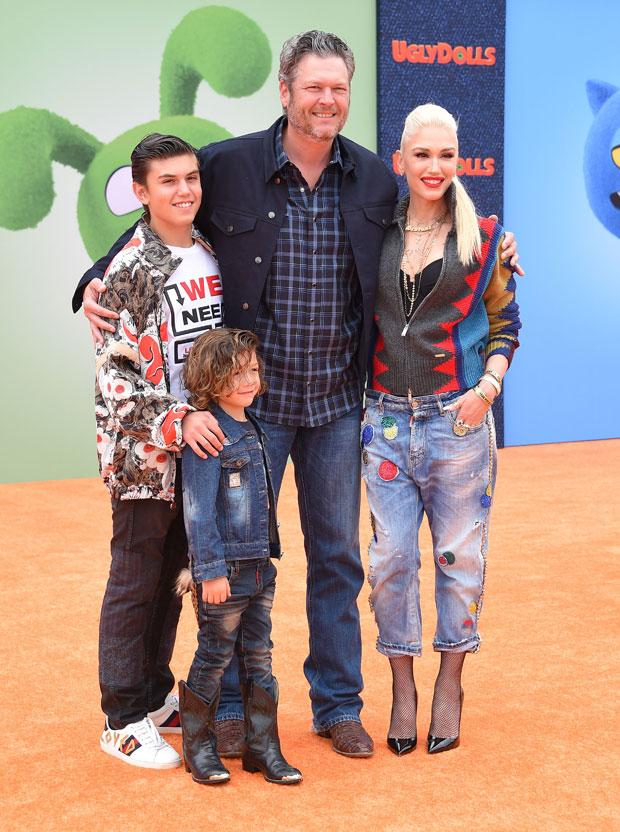 Gwen Stefani and Blake Shelton.