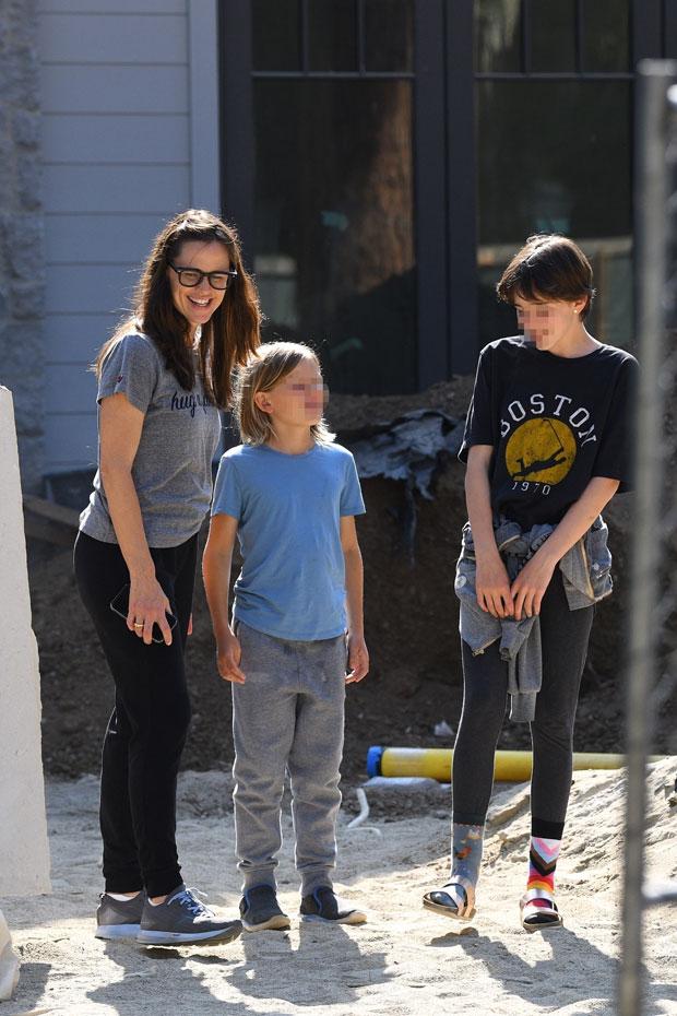 Jennifer Garner, Seraphina & Samuel