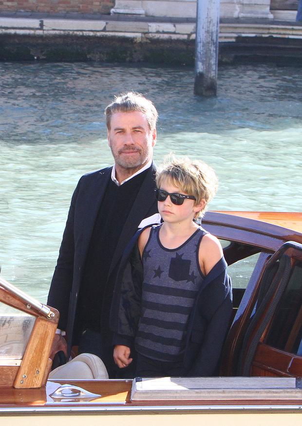 John Travolta and son Ben