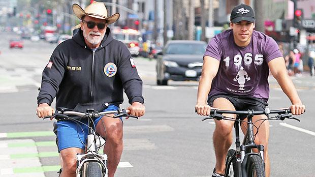 Joseph Baena Shows Love To Dad Arnold Schwarzenegger On 74th Birthday — See Look-Alike Photo