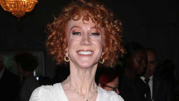 Kathy Griffin Chokes Up After Trolls Mock Her Curly Hair: 'This Is How It Grows Out Of My Head' – Watch