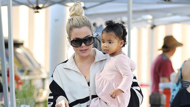 Khloe Kardashian Jokes That Daughter True, 3, Is Coming For Kendall Jenner's Modeling Career.jpg