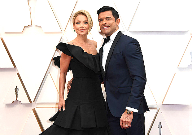 Mark Consuelos & Kelly Ripa