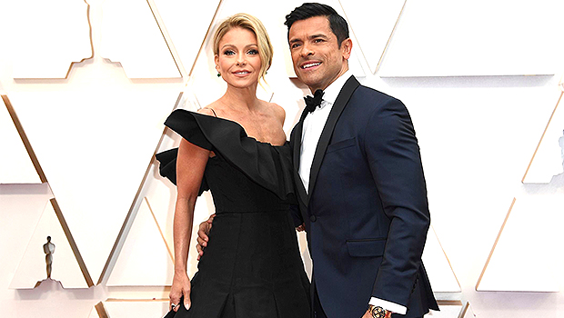Kelly Ripa Jokes Mark Consuelos,50, 'Gave Up' As He Looks Fitter Than Ever In Gray Tank Top – Photo