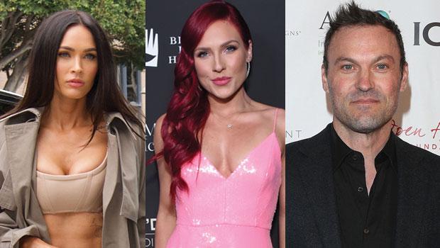 Megan Fox, Sharna Burgess, Brian Austin Green