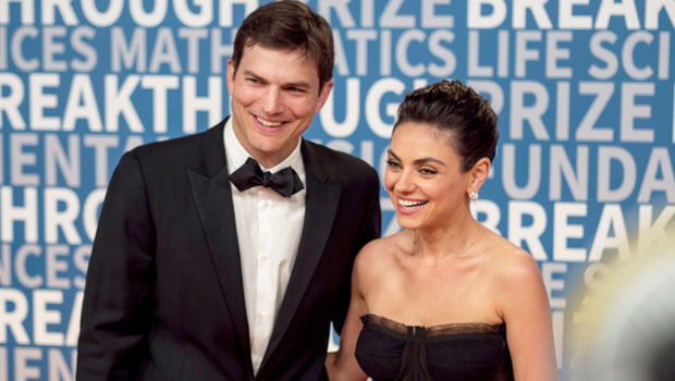 Mila Kunis & Ashton Kutcher Shock Fans With Confession About How Often They Bathe Their Kids
