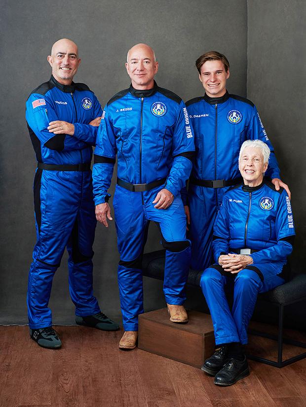 Blue Origin space crew