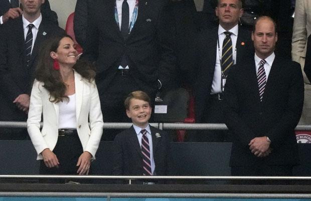 Prince George, Kate Middleton & Prince William