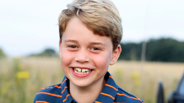 Prince George Smiles While Rocking A Casual Polo & Shorts In Sweet New 8th Birthday Portrait.jpg
