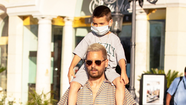 Reign Disick, 6, Takes A Dip In The Pool In Cute New Photo Shared By Dad Scott