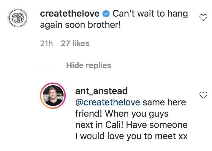 ant anstead instagram comments