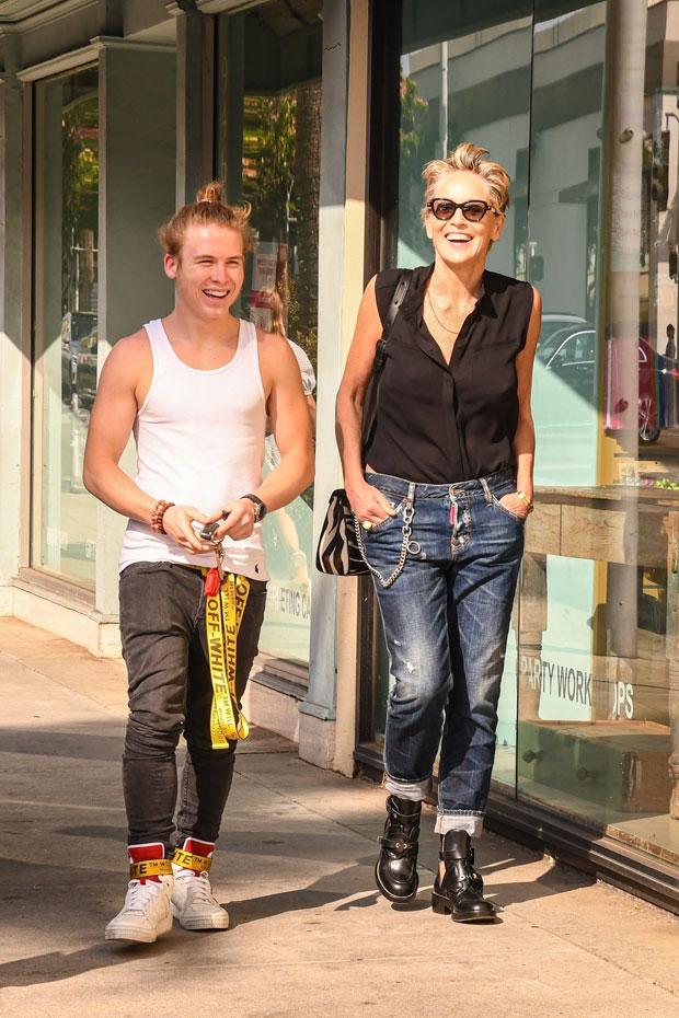 Sharon Stone, Roan