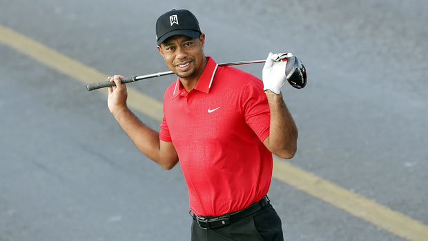 Tiger Woods Is Seen On Crutches 5 Months After Surgery Following Car Crash — Photos.jpg