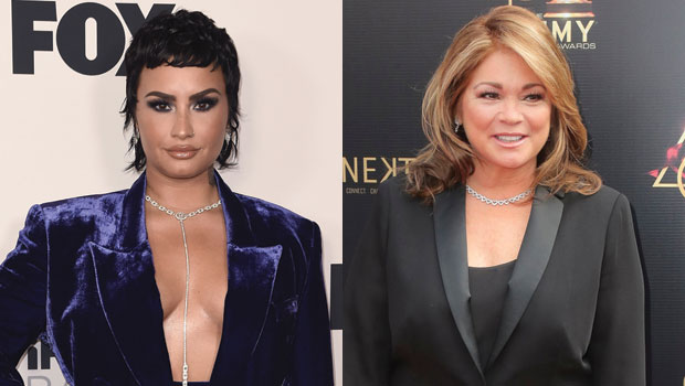 Valerie Bertinelli & Demi Lovato Spotted In 1st Photos Playing Mother-Daughter On-Set Of 'Hungry'.jpg