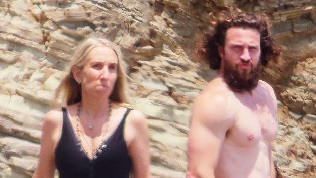 Aaron Taylor-Johnson, 31, & Wife Sam, 54, Enjoy A Beach Day With Gerard Butler & His GF In Malibu — Photo.jpg
