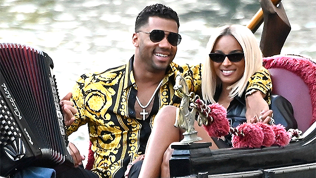 Ciara and Russell Wilson enjoy a romantic outing in Venice.