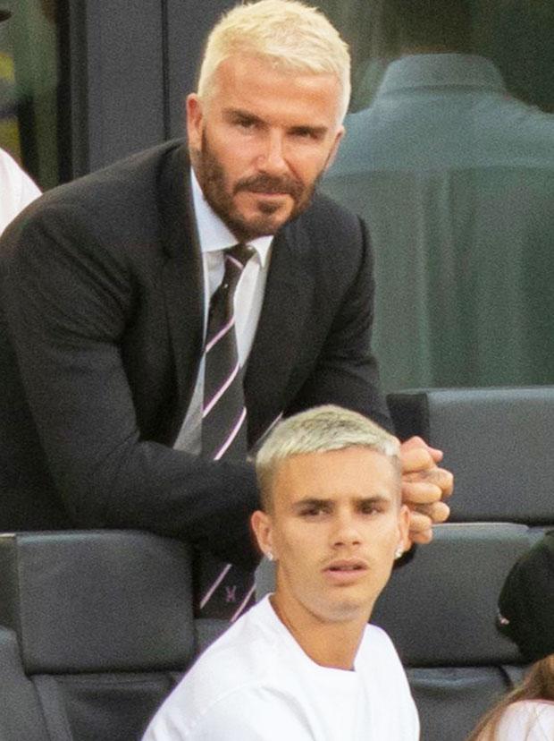 David Beckham & son Romeo