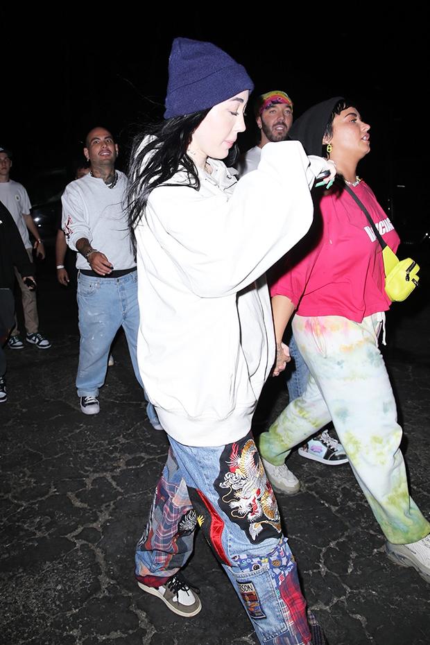 Noah Cyrus Demi Lovato