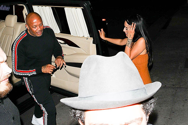 dr. dre and mystery woman