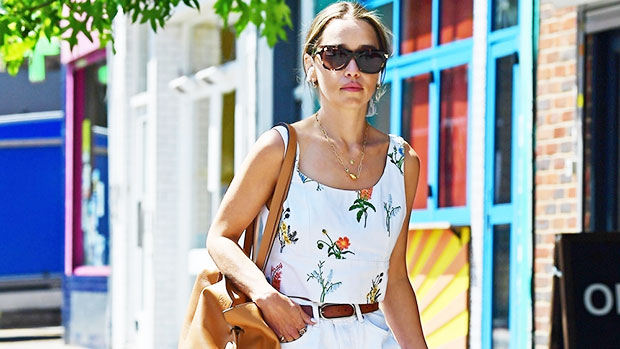 Emilia Clarke Wears Ripped Short Shorts As She Walks Her Dog Around London.jpg