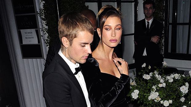 Hailey Baldwin Stuns In Velvet Dress With Double Leg Slit For Fancy Night Out With Justin Bieber – Photo.jpg