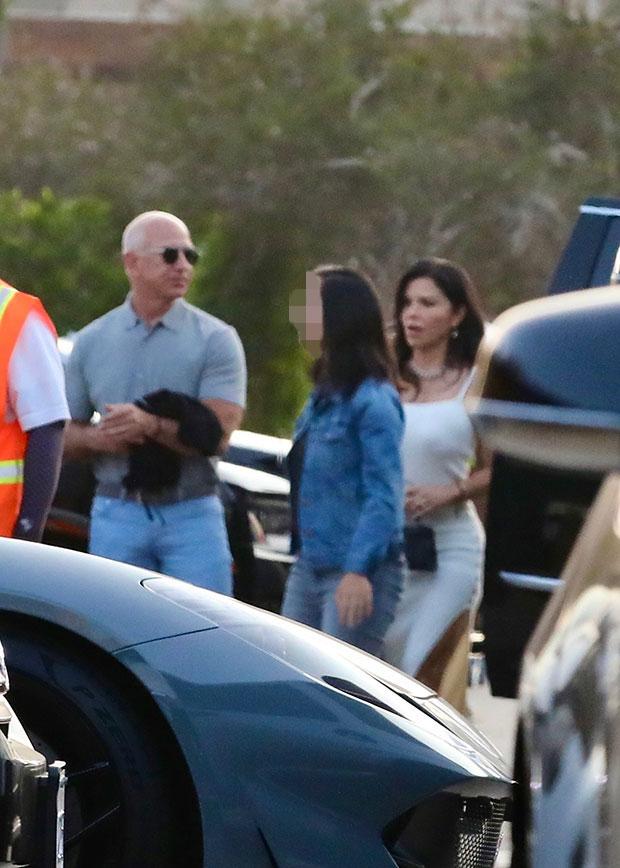 Jeff Bezos & Lauren Sanchez
