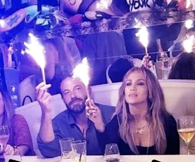 Ben Affleck & J. Lo