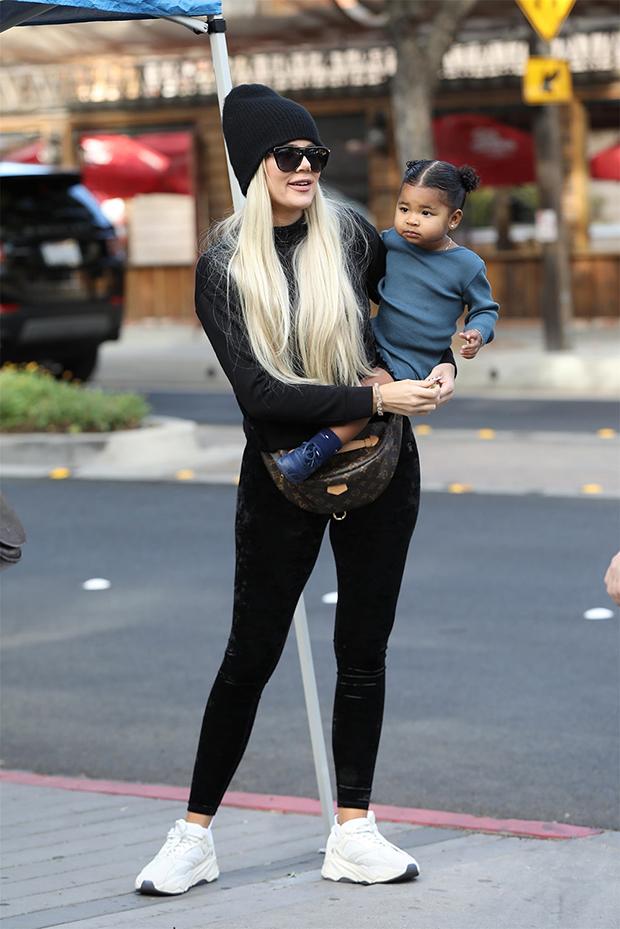 Khloe Kardashian & her daughter True