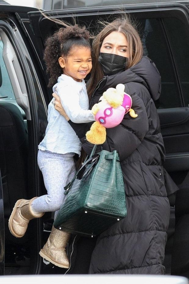 Khloe Kardashian e True Thompson.