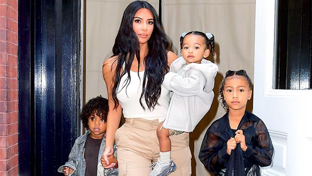 Kim Kardashian & 4 Kids Support Kanye West At 'Donda' Listening Party Amid Split.jpg